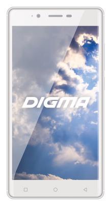 "Смартфон Digma S502 белый 5.5"" 4 Гб Wi-Fi GPS 3G"