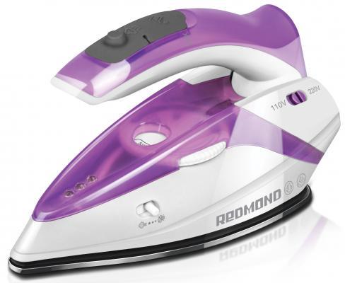Утюг Redmond RI-S231 1100Вт белый/фиолетовый