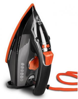 Утюг Redmond RI-C244 2200Вт черный/оранжевый утюг redmond ri c244 orange