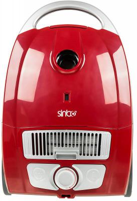 Пылесос Sinbo SVC 3478ZR 2000Вт красный/черный