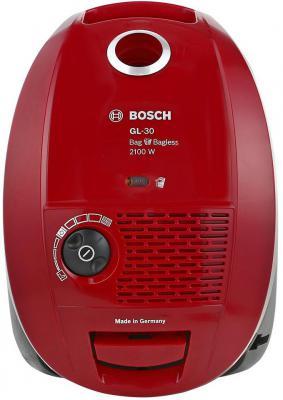 Пылесос Bosch BSGL 32180 с мешком сухая уборка 2100Вт красный