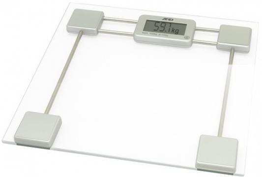 Весы напольные A&D UC-200 прозрачный белый