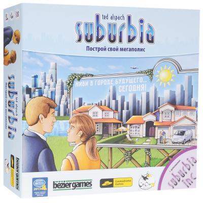 Настольная игра Cosmodrome games стратегическая Suburbia 52001