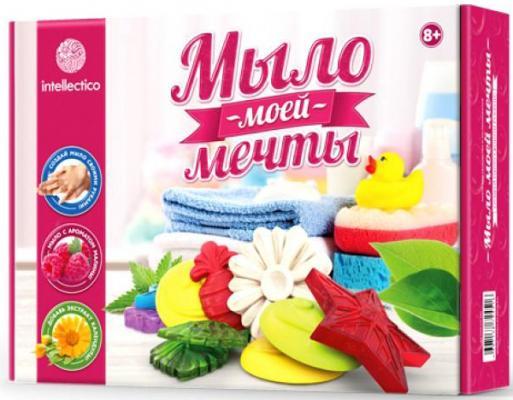Набор для изготовления мыла INTELLECTICO Мыло моей мечты 451 от 8 лет 980103 набор для изготовления мыла аромафабрика лимпопо от 8 лет с0101
