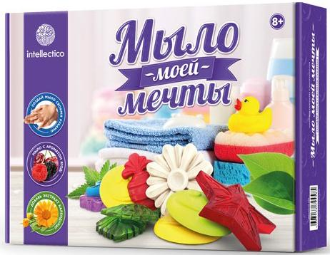Набор для изготовления мыла INTELLECTICO Мыло моей мечты 458 от 8 лет набор для изготовления мыла аромафабрика лимпопо от 8 лет с0101