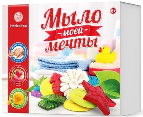 Набор для изготовления мыла INTELLECTICO Мыло моей мечты 461 от 8 лет 980103 набор для изготовления мыла аромафабрика лимпопо от 8 лет с0101