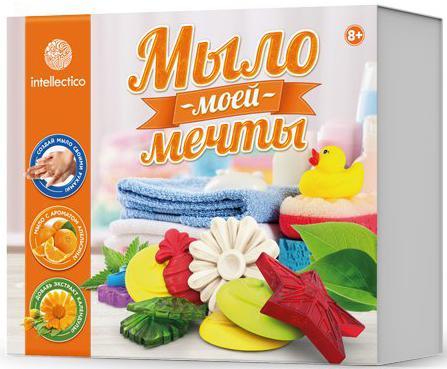 Набор для изготовления мыла INTELLECTICO Мыло моей мечты 462 от 8 лет 980103 набор для изготовления мыла аромафабрика лимпопо от 8 лет с0101