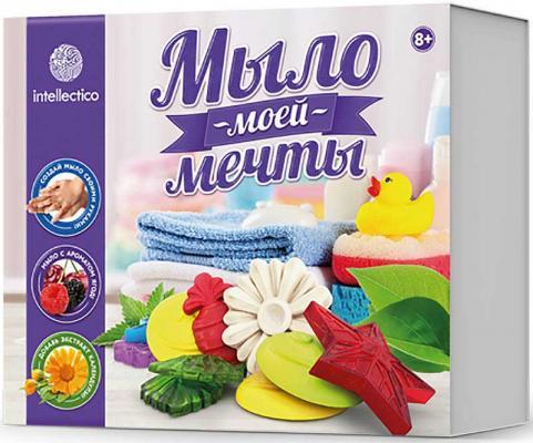 Набор для изготовления мыла INTELLECTICO Мыло моей мечты 468 от 8 лет 980103 набор для изготовления мыла аромафабрика лимпопо от 8 лет с0101