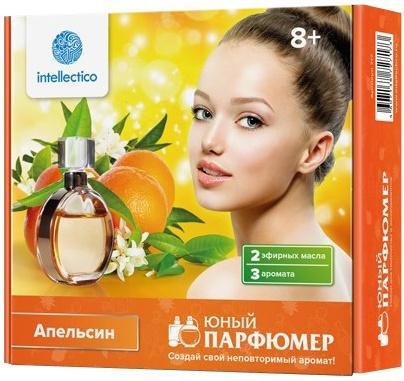 Набор для творчества Intellectico Юный парфюмер мини Апельсин от 8 лет 717 каррас набор юный парфюмер мини cool boy