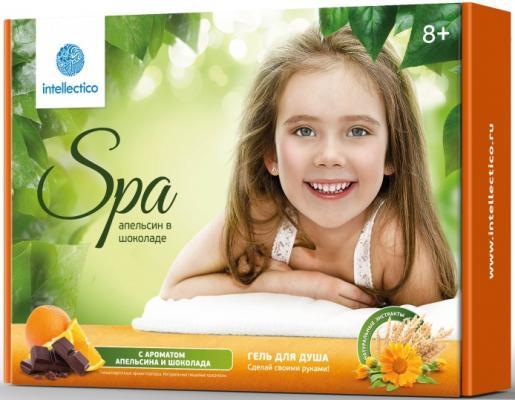 Купить Набор для творчества Intellectico Гель для душа Апельсин в шоколаде от 8 лет 762, Косметика своими руками