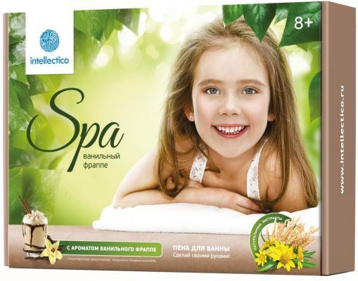Купить Набор для творчества Intellectico Пена для ванны Ванильный фраппе от 8 лет 764, Косметика своими руками