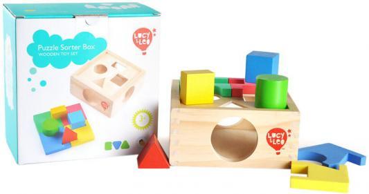 Игрушка из дерева Занимательная коробка LUCY&LEO LL112 от 123.ru