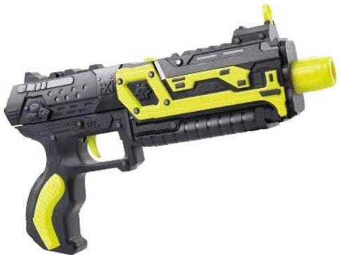 Бластер Х-Бластер Стингер XH-031A желтый бластер beboy автомат it100510