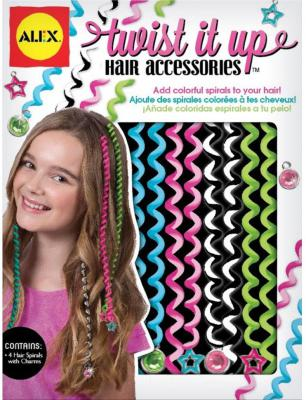 Игровой набор Alex для украшения волос 8 предметов 722T