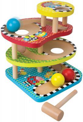 Развивающий деревянный центр Alex Макс - Три шарика 1994 развивающий центр playgo для самых маленьких