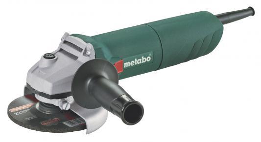 Углошлифовальная машина Metabo W 1100-125 125 мм 1100 Вт
