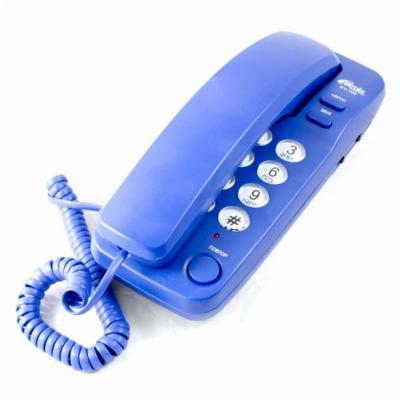 Телефон Ritmix RT-100 синий