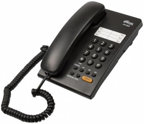 Фото Телефон Ritmix RT-330 черный телефон ritmix rt 003 черный