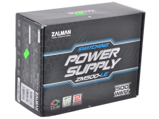 все цены на БП ATX 500 Вт Zalman ZM500-LEII