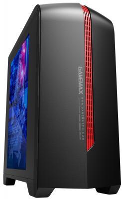 все цены на Корпус microATX GameMax H601BR Blue LED Без БП чёрный онлайн