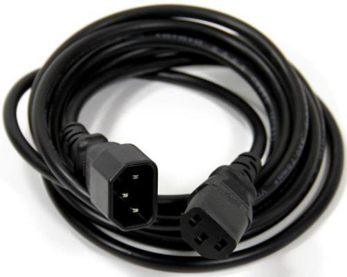 Кабель питания монитор - системный блок 1.8м VCOM Telecom CE001-CU0.75-1.8M