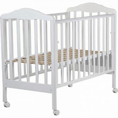 Кроватка-качалка СКВ Березка (белый/170111)