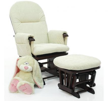 Кресло-качалка Tutti Bambini Daisy GC35 (mahogany/текстиль-крем)