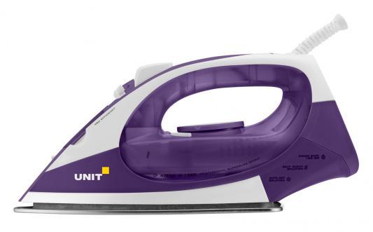 Утюг UNIT USI-282 2200Вт бело-фиолетовый утюг braun ts365a 2200вт фиолетовый [0127394028]