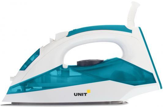 Утюг UNIT USI-281 2200Вт бело-голубой