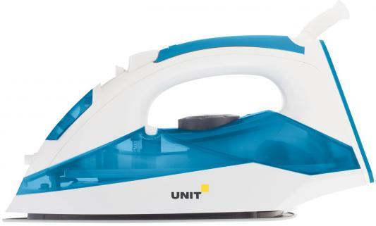 Утюг UNIT USI-281 2200Вт бело-синий утюг unit usi 280 2200вт белый синий
