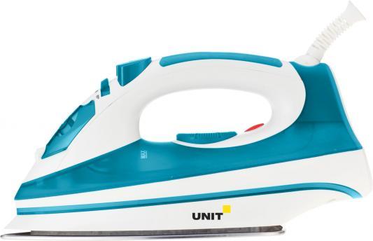 Утюг UNIT USI-193 2200Вт бело-голубой утюг unit usi 280 2200вт белый синий