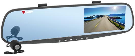 "Видеорегистратор Artway AV-600 4"" 1280x720 120° microSD microSDHC датчик движения USB"