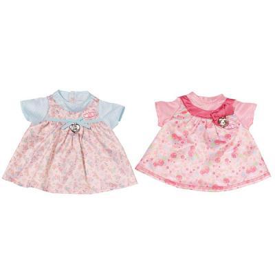 Одежда для кукол Zapf Creation Baby Annabell Платья 794531 розовое в цветочек