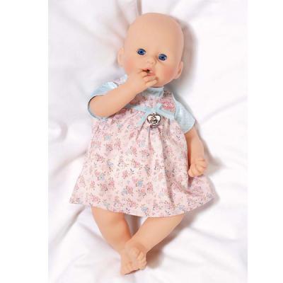 Одежда для кукол Zapf Creation Baby Annabell Платья 794531 розовое в цветочек от 123.ru