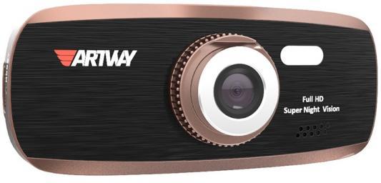 Видеорегистратор Artway 390 2.7 1920x1080 170° microSD microSDHC датчик движения HDMI видеорегистратор mystery mdr 840hd 1 5 1920x1080 5mp 120° microsd microsdhc hdmi