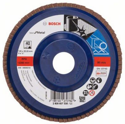 Лепестковый диск Bosch 115мм 2608607323