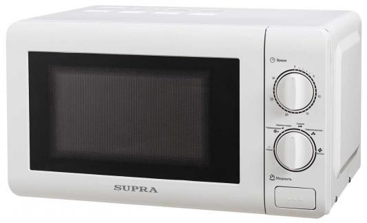 СВЧ Supra MWS-2121MW 700 Вт белый supra mws 1805 mw