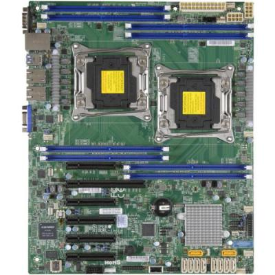 Мат. плата для ПК Supermicro MBD-X10DRL-I-B 2 х Socket 2011-3 C612 8xDDR4 1xPCI-E 16x 2xPCI-E 4x 3xPCI-E 8x 10xSATAIII ATX OEM