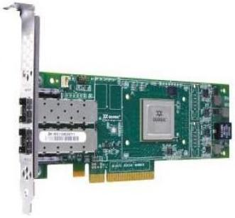Адаптер Dell QLogic 2662 Dual Port 16GB Fibre Channel HBA Full Height - Kit 406-10741