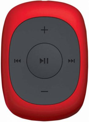 Плеер Digma C2L 4Gb красный mp3 плеер digma c2l flash 4гб красный [c2lr]