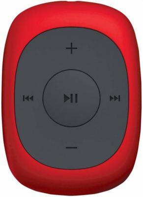 Плеер Digma C2L 4Gb красный mp3 плеер digma c2l 4гб красный с черным