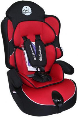 Автокресло Mr Sandman Little Passenger Isofix (черный/красный