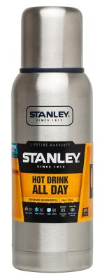 Термос Stanley Adventure 0.75л серебристый 10-01562-017 цена 2017