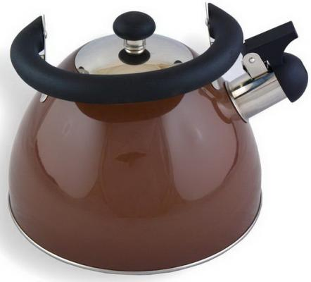 Чайник Катунь КТ-106B шоколад 2.5 л нержавеющая сталь
