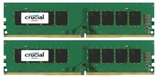 Оперативная память 16Gb (2x8Gb) PC4-17000 2133Hz DDR4 DIMM Crucial CT2K8G4DFS8213