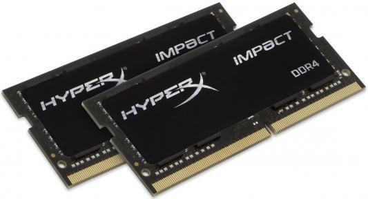 Оперативная память для ноутбуков SO-DDR4 16Gb PC192000 2400MHz Kingston HX424S14IBK2/16