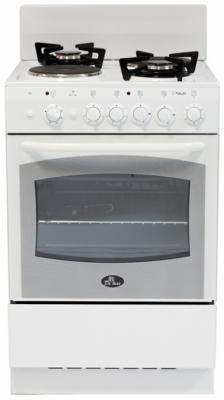 Комбинированная плита De Luxe 5422.01гэ белый комбинированная плита de luxe 506022 04гэ белый