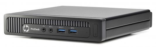 Системный блок HP 260 DM i3 6100U 4Gb SSD128Gb  Win10Pro Win7Pro клавиатура мышь черный X3K41ES