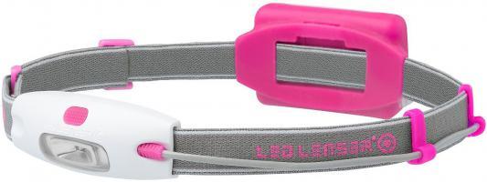Фонарь Led Lenser Neo 6112 светодиодный налобный розовый