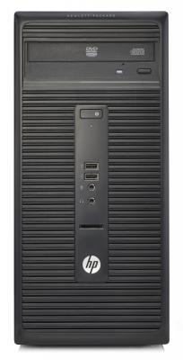 Системный блок HP 280 G2 MT  i3 6100 4Gb 500GB HDG4600 Win10Pro Win7Pro DVD-RW клавиатура мышь черный V7Q77EA
